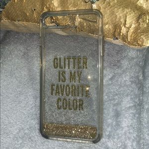 Glitter is my favorite color IPhone 7 Plus case